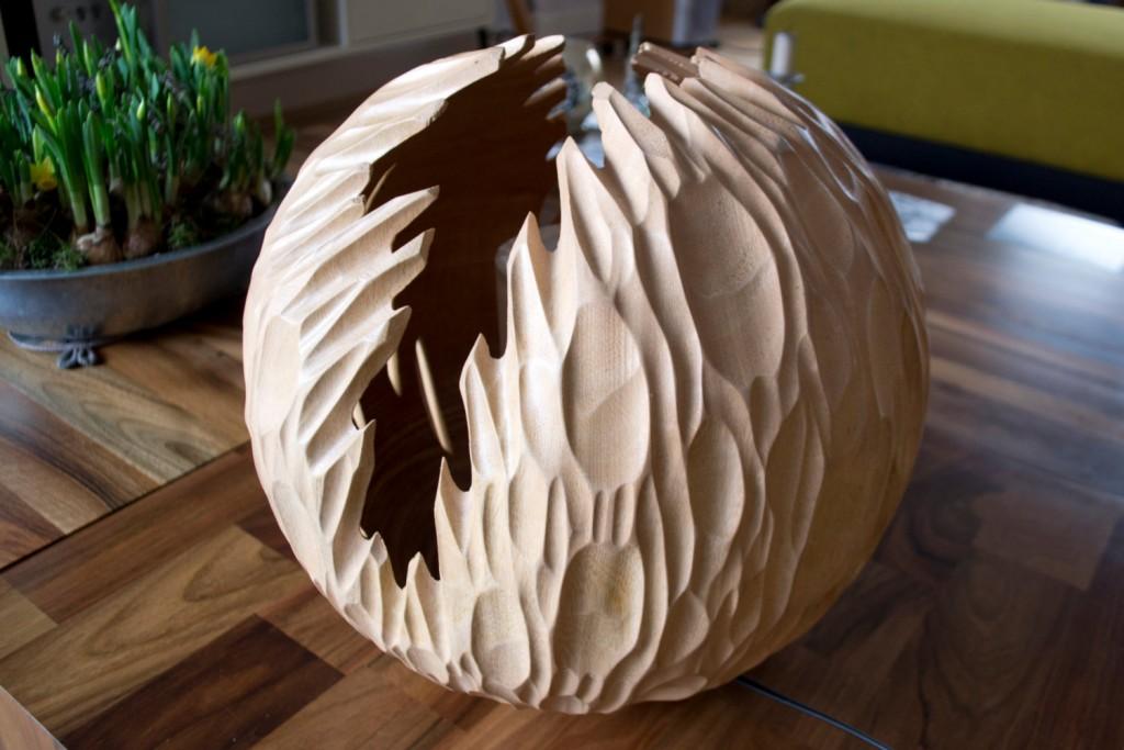 3 Wood lamp