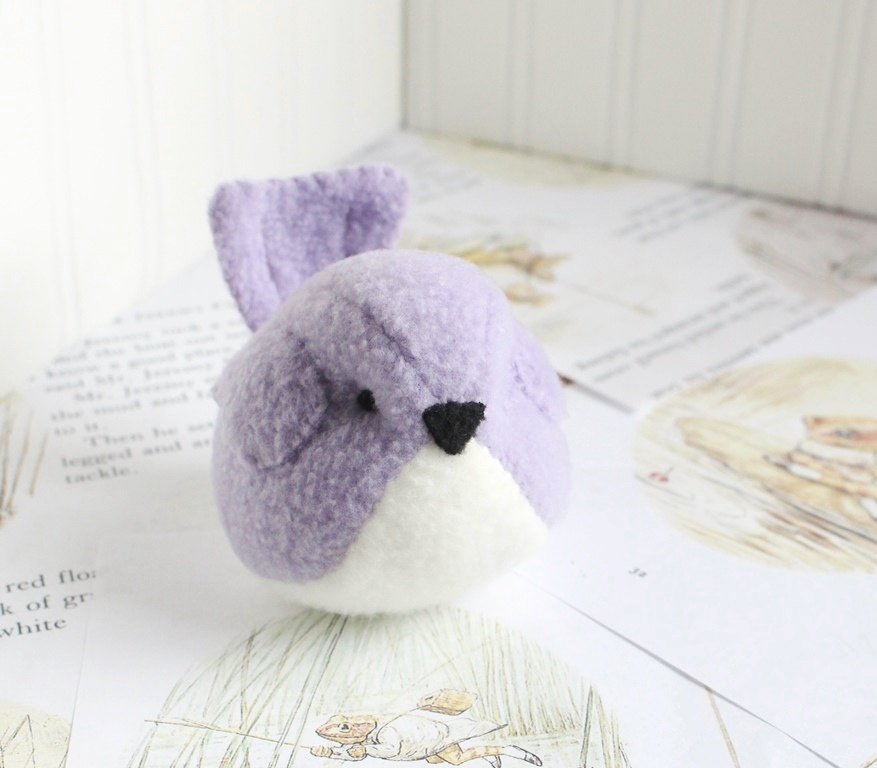 4 Kids Lavender Handmade Bird