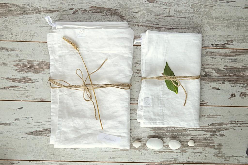 1 Linen bath towels