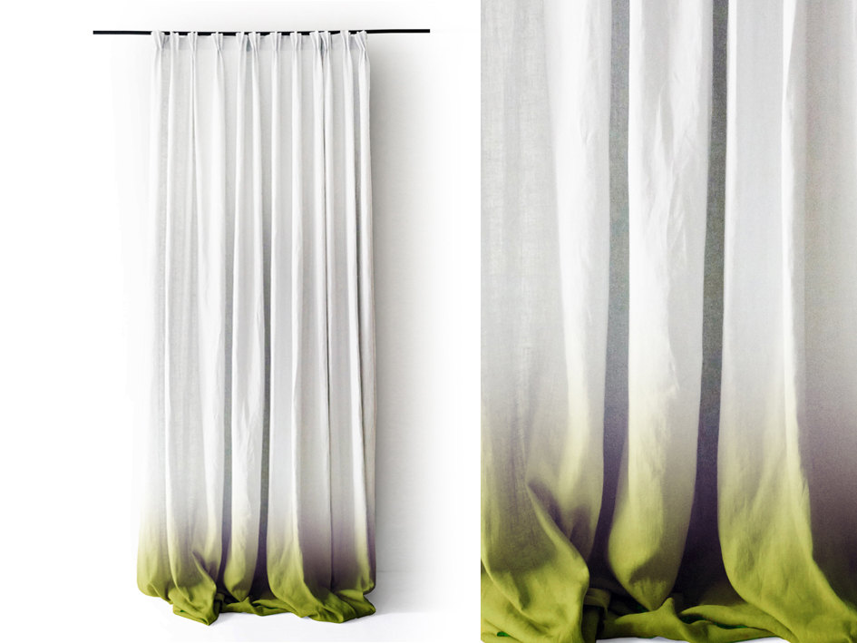 1 Ombre curtain