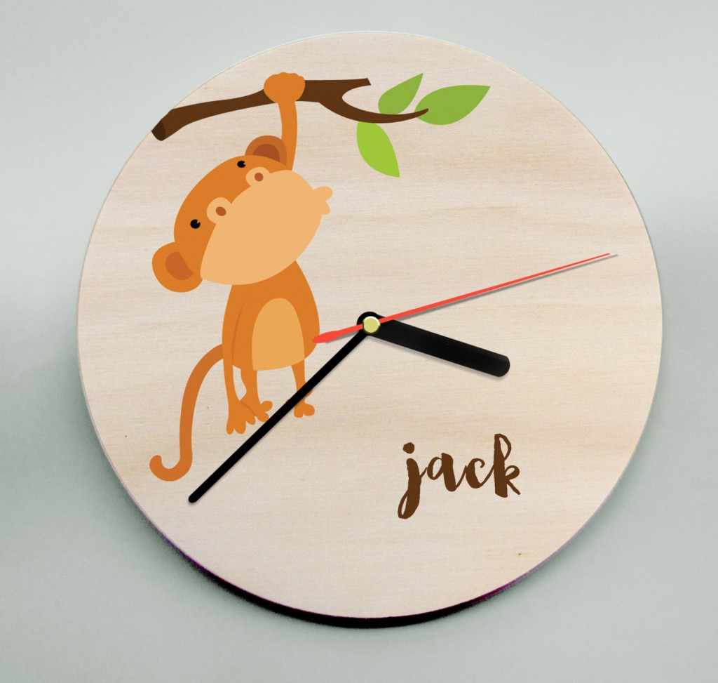 2 Monkey Clock