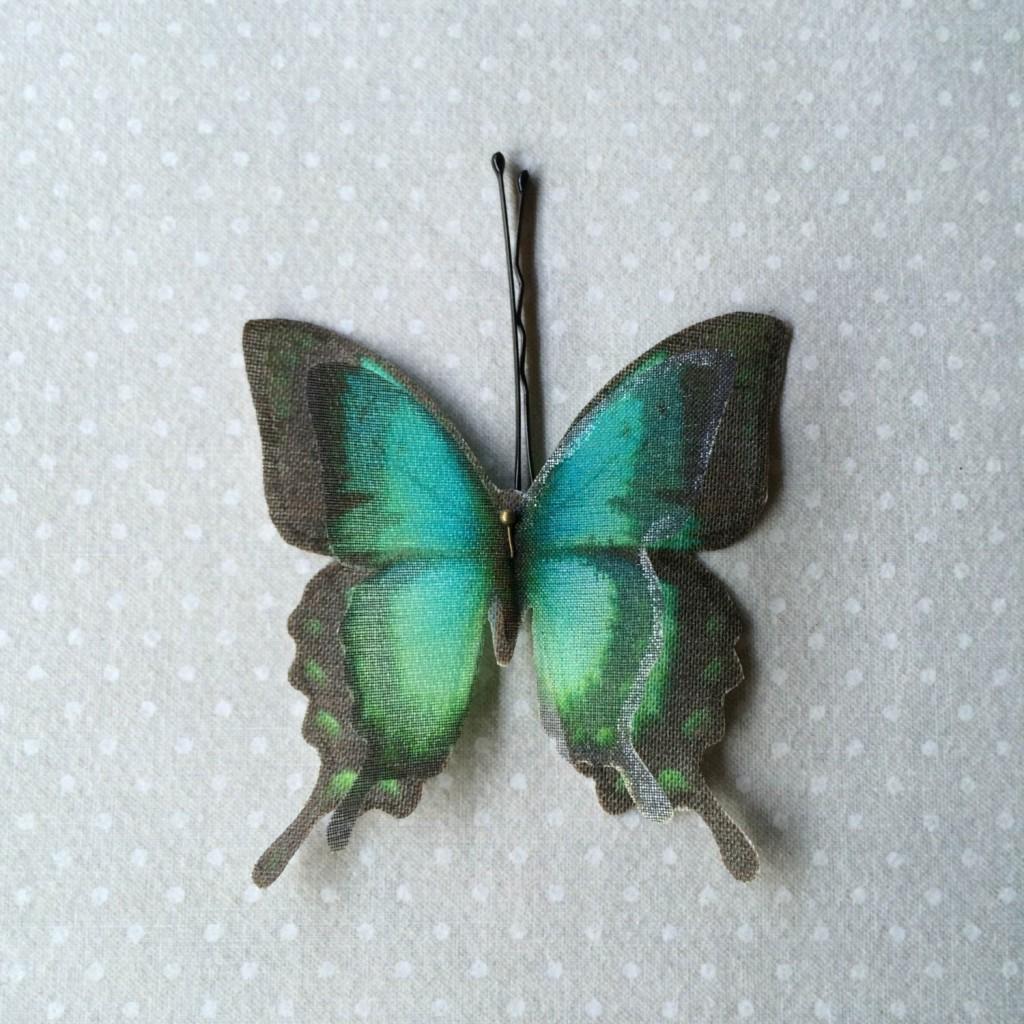 1 Butterflies Hair Bobby Pin