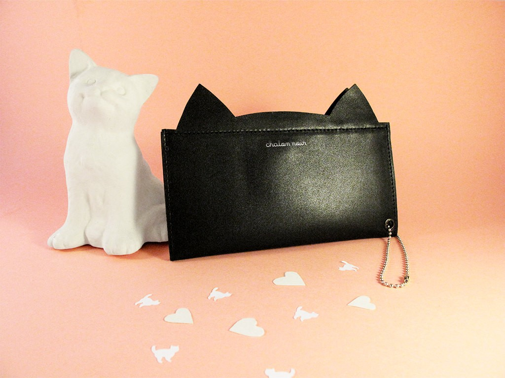 2 Black Cat Wallet