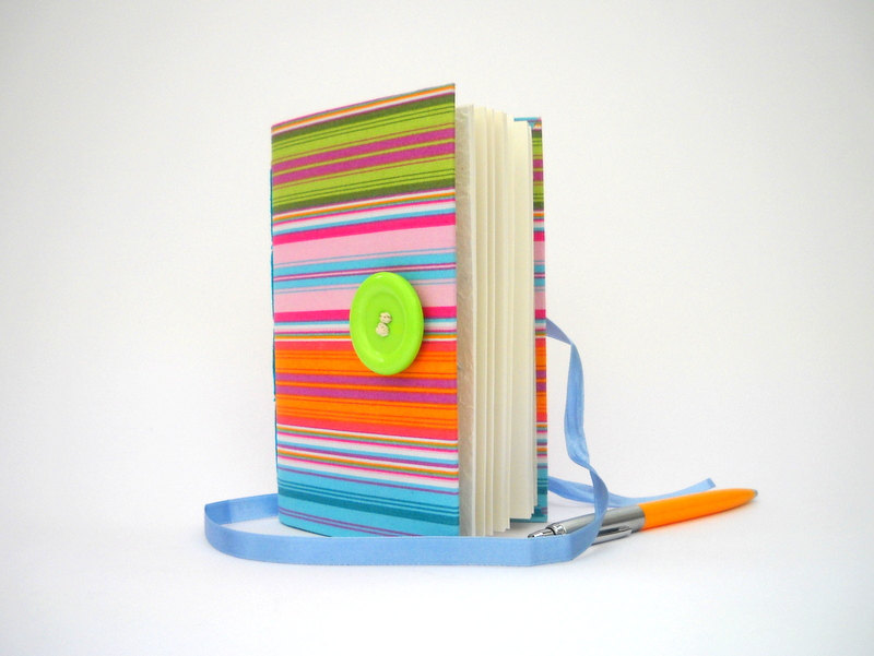 3 Colorful Stripes Journal