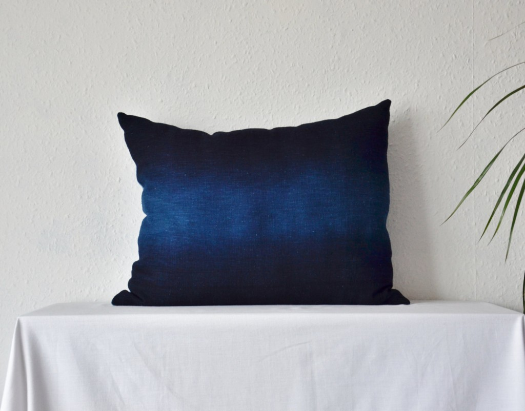 4 Indigo cushion