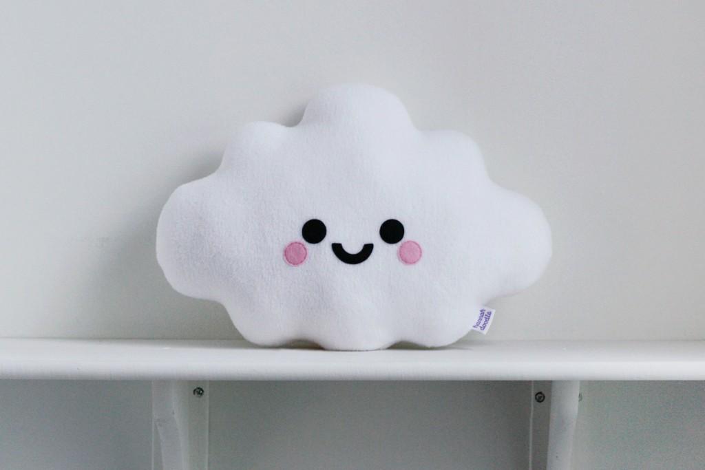 5 White Cloud Cushion