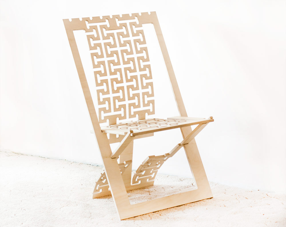 1 Wooden chair