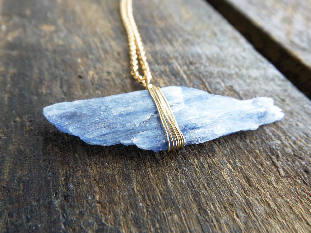 2 Kyanite Necklace