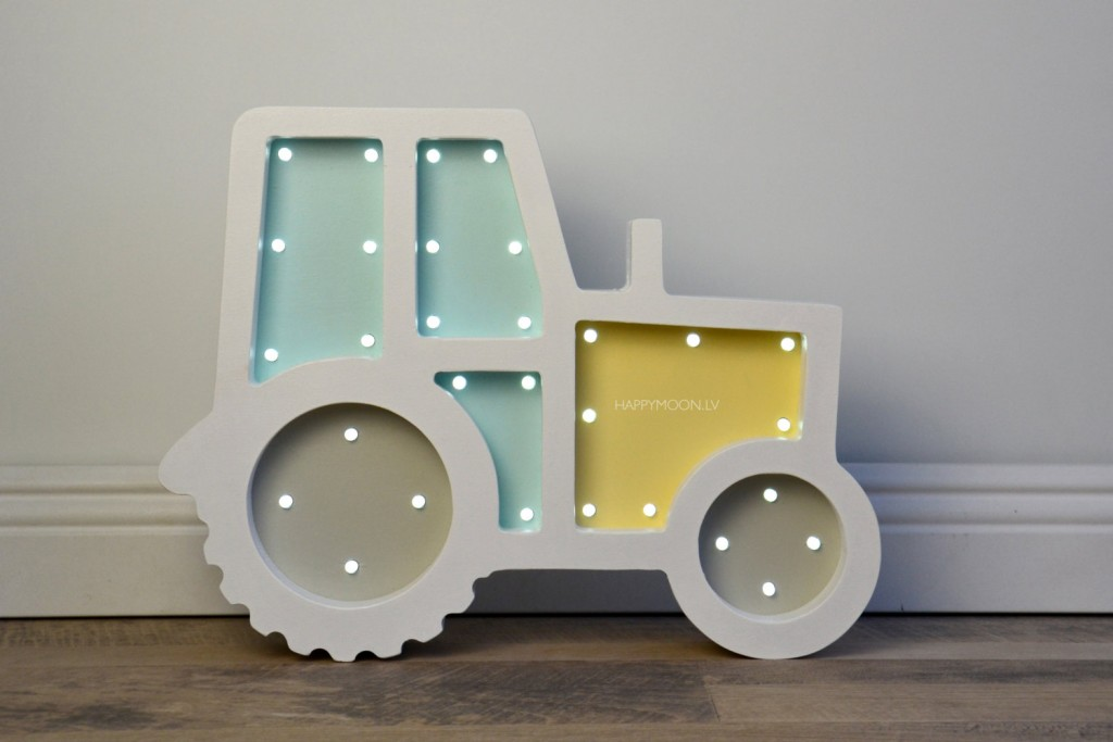 5 Tractor nightlight
