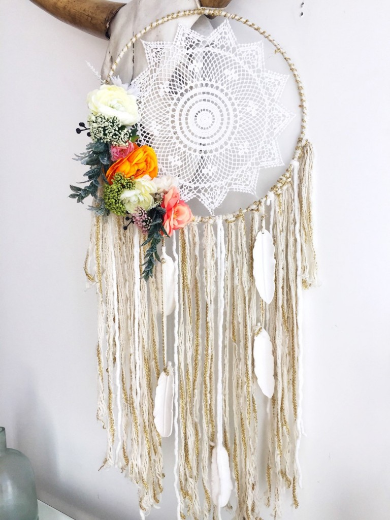 1 Peonies and ranunculus dreamcatcher