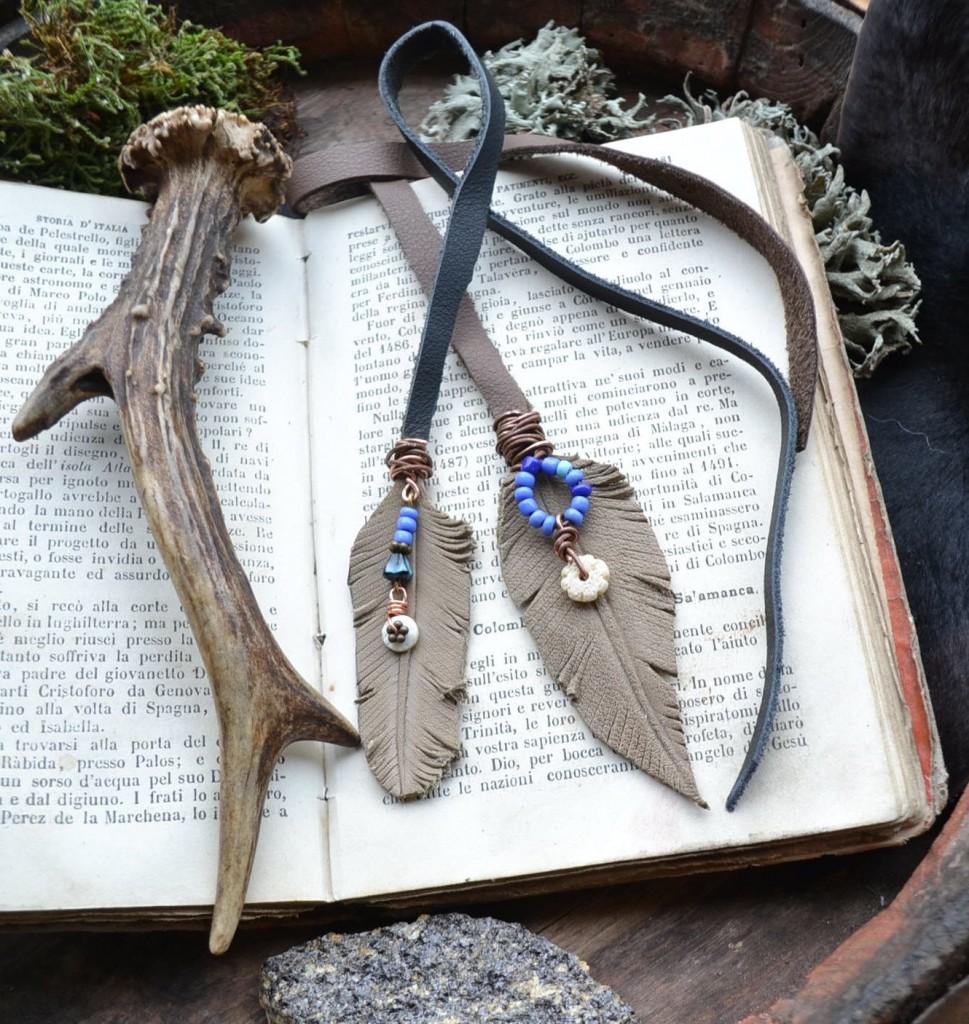 2 Handmade bookmark
