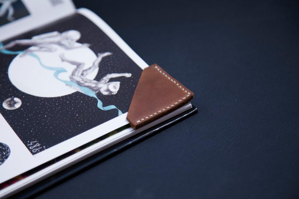 5 Leather Bookmark