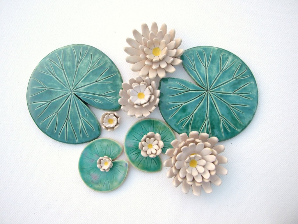 5 Lily pad coaster