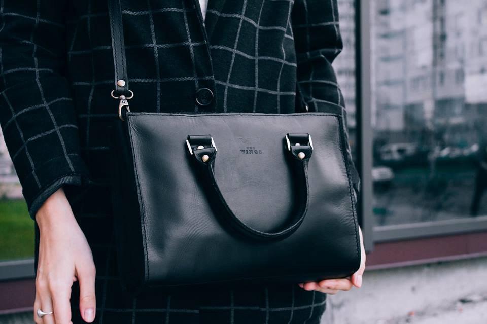 5 Leather satchel