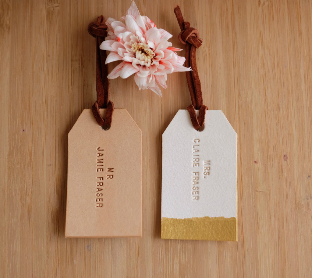 4 Mr and Mrs Travel Tag
