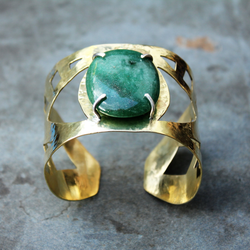 2 DELPHI eye cuff bracelet