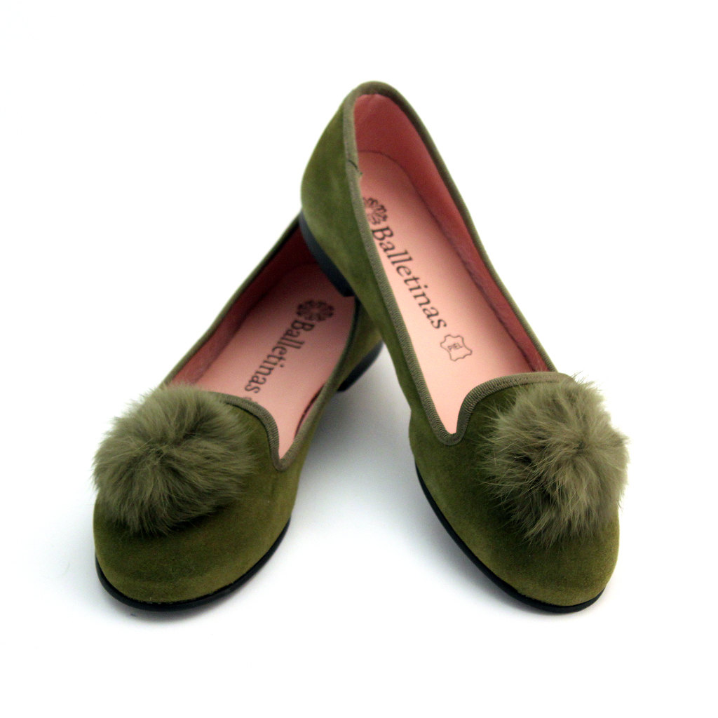 2 Green shoes,